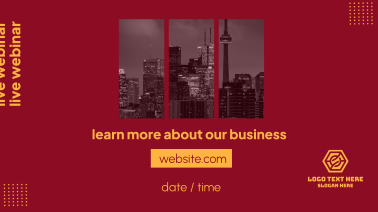 Learn About Our Business Webinar Facebook event cover