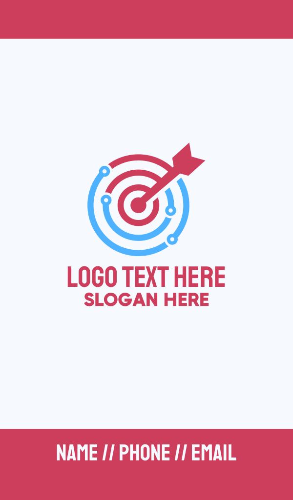 Tech Target Business Card