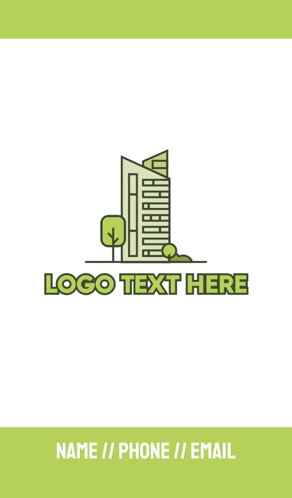 Eco City Builder Business Card