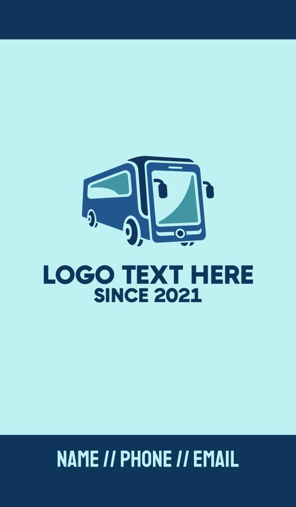 Mobile Smart Transit Bus Van Business Card
