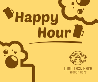 Happy Hour Facebook post