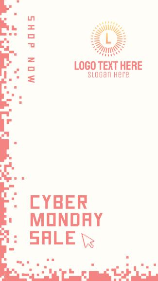 Cyber Monday Pixels Facebook story