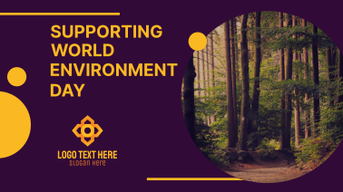 Supporting World Environment Day Facebook event cover