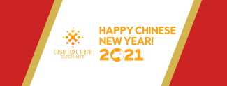 Chinese New Year Ox Facebook cover