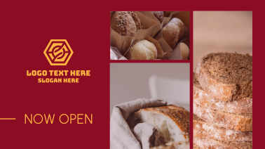 Now Open Bakery Facebook event cover