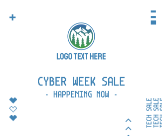 Cyber Week Sale Facebook post