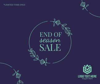 Season Sale Facebook post