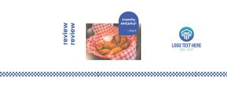Chicken Checkered Facebook cover