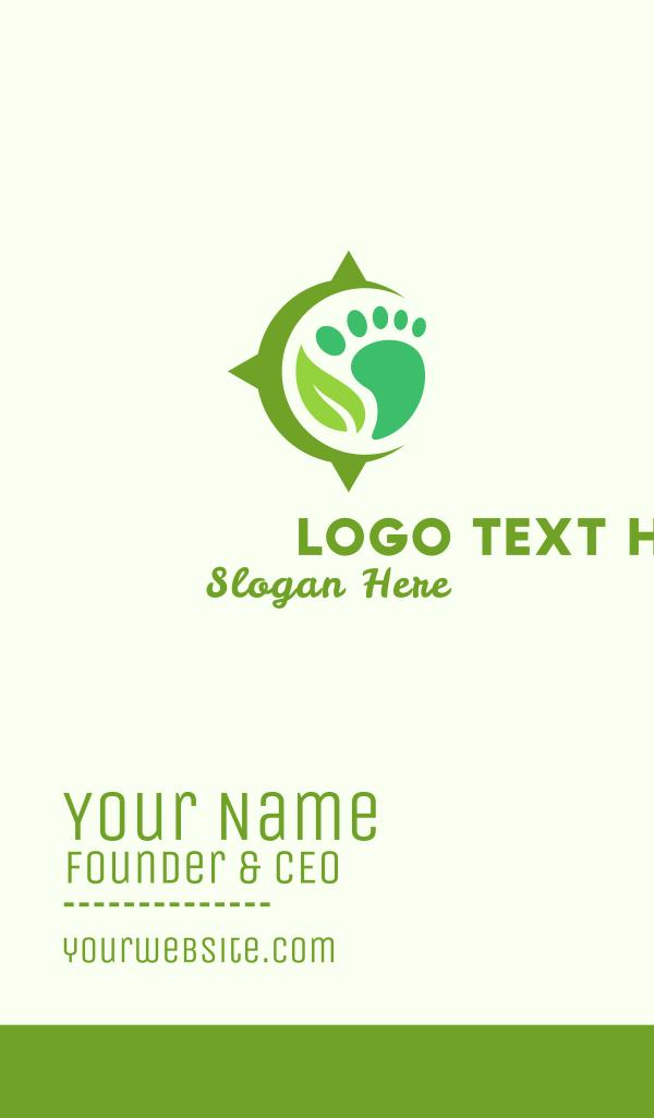 Foot & Leaf Business Card