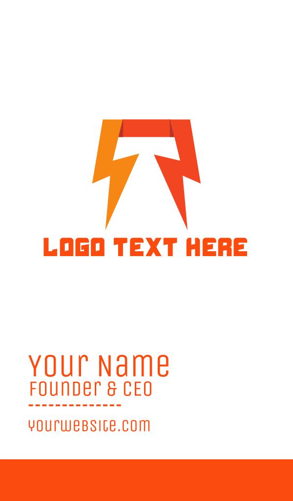 Thunderlbolt Energy Business Card