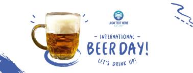 International Beer Day Facebook cover