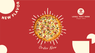 Delicious Pizza Promotion Facebook event cover