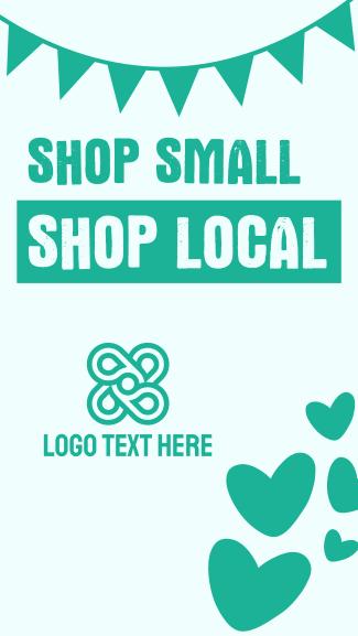 Shop Small Shop Local Facebook story