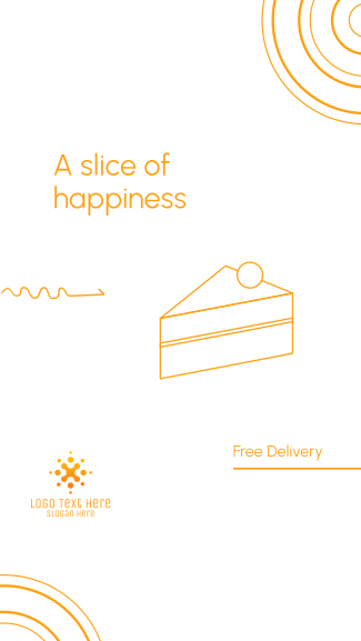 A slice of happiness Facebook story