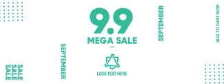 Mega Sale 9.9 Facebook cover