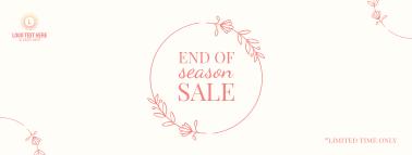 Season Sale Facebook cover