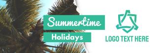 Summertime Holidays Twitter Header