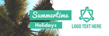 Summertime Holidays Twitter header (cover)
