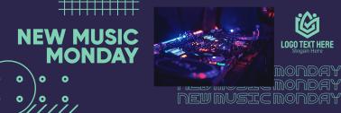 DJ Music Set Twitter header (cover)