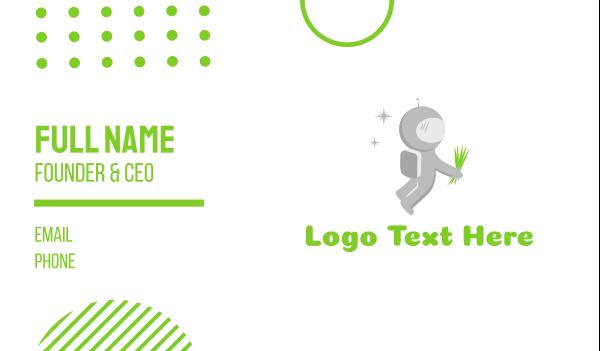 universe - Space Lawn Business card horizontal design