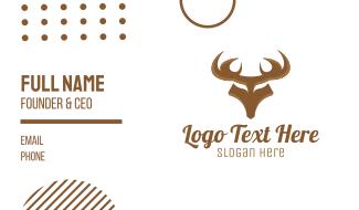 Strong Deer Business Card