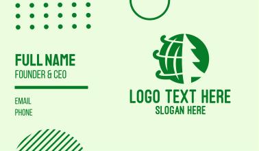 Global Pine Tree Business Card
