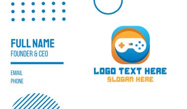Gaming App Business Card