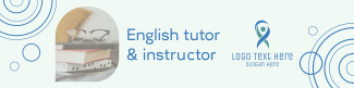 English Tutor LinkedIn banner