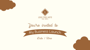 You're Invited Facebook event cover