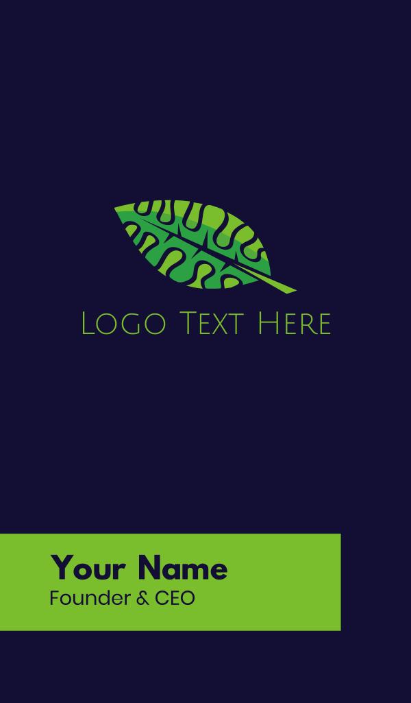 Smart Leaf Business Card