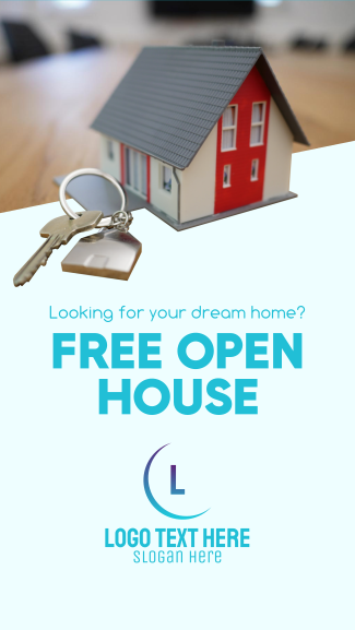 Open House Facebook story