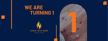 We Are Turning 1 Facebook cover