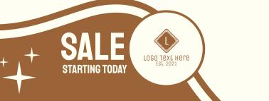 Sale Coffee Latte Facebook cover