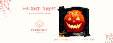 Fright Night Party Facebook cover