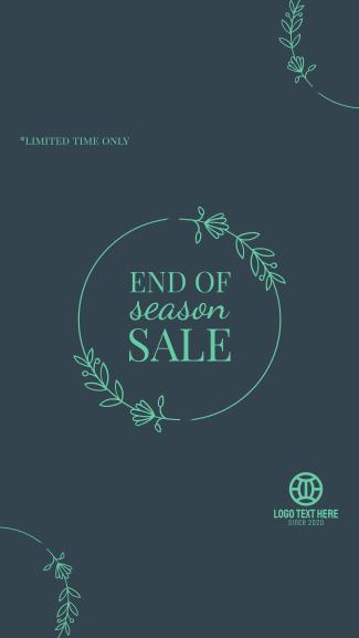 Season Sale Facebook story