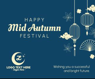Happy Mid Autumn Festival Facebook Post