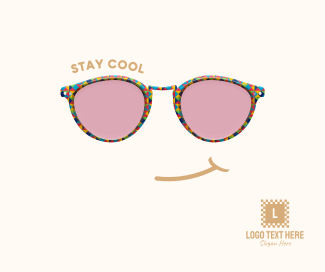 Stay Cool Glasses Facebook post