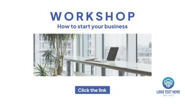 Workshop Business Facebook Event Cover