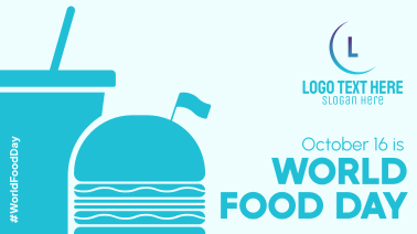 Burger World Food Day Facebook event cover