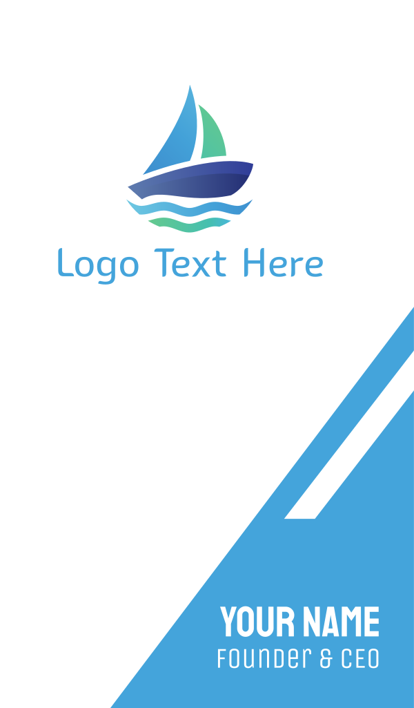 Blue Boat Business Card