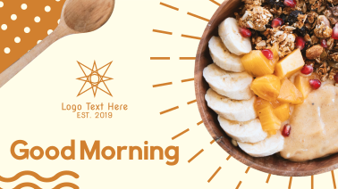 Healthy Food Breakfast Facebook event cover