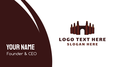 Beer Castle Business Card