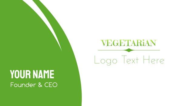 whirl - Fresh & Green Business card horizontal design