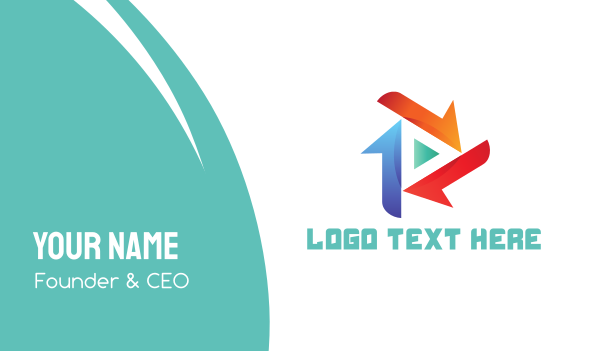 Triangle Media Business Card