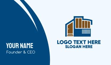 Home Design Firm  Business Card