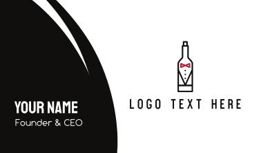 Drink Suit Business Card