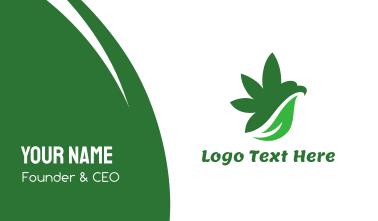 Cannabis Bird Wing Business Card