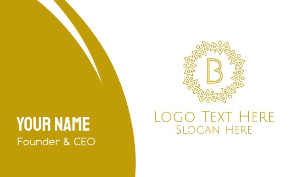 distiller - Luxurious Royal Lettermark Business card horizontal design