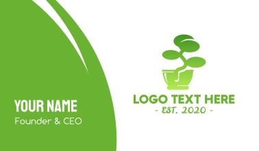 Green Bonsai  Business Card