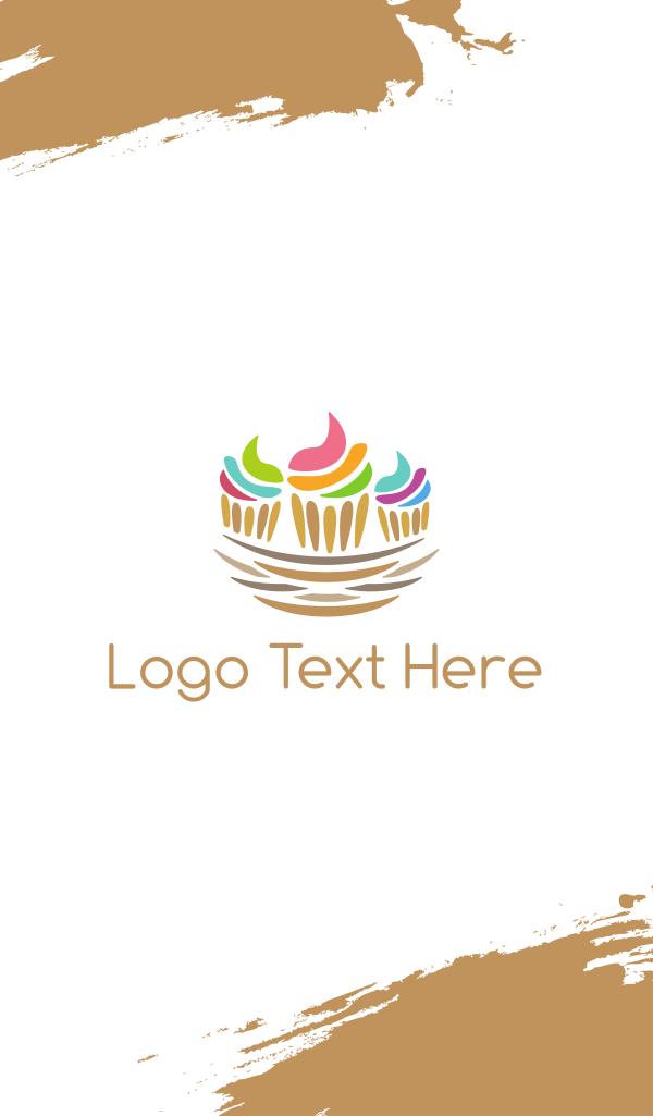 Cupcake Nest Business Card